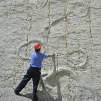 Dinosaur footprints in Bolivia threatened with extinction
