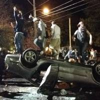 Mayhem erupts near New Hampshire pumpkin fest, college