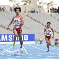 Japanese pair miss out to Mahboob