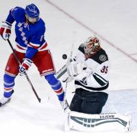 Rangers stage huge rally to beat Wild