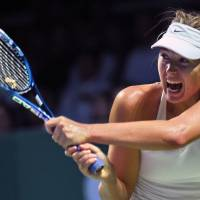 Sharapova falls short