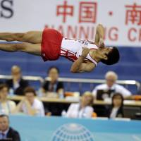 Shirai claims silver in men's apparatus final at gymnastics worlds