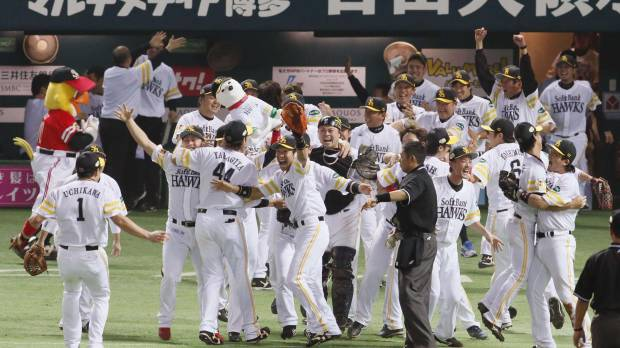 Singular focus propels Hawks to Japan Series crown