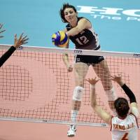 U.S. downs China for first women's volleyball world title