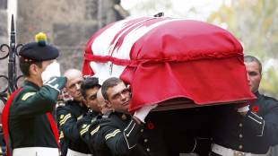 Funeral for a soldier
