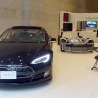 Tesla opens temporary showroom in Osaka as interest grows
