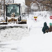 Northeastern U.S. braces for more snow in killer storm