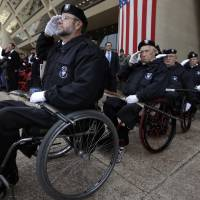 America marks Veterans Day with parades, freebies