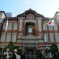 Tokyo Station's iconic brick building, witness to war, stands test of time