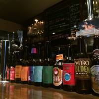 Attune your sonar to this cozy craft-beer bar
