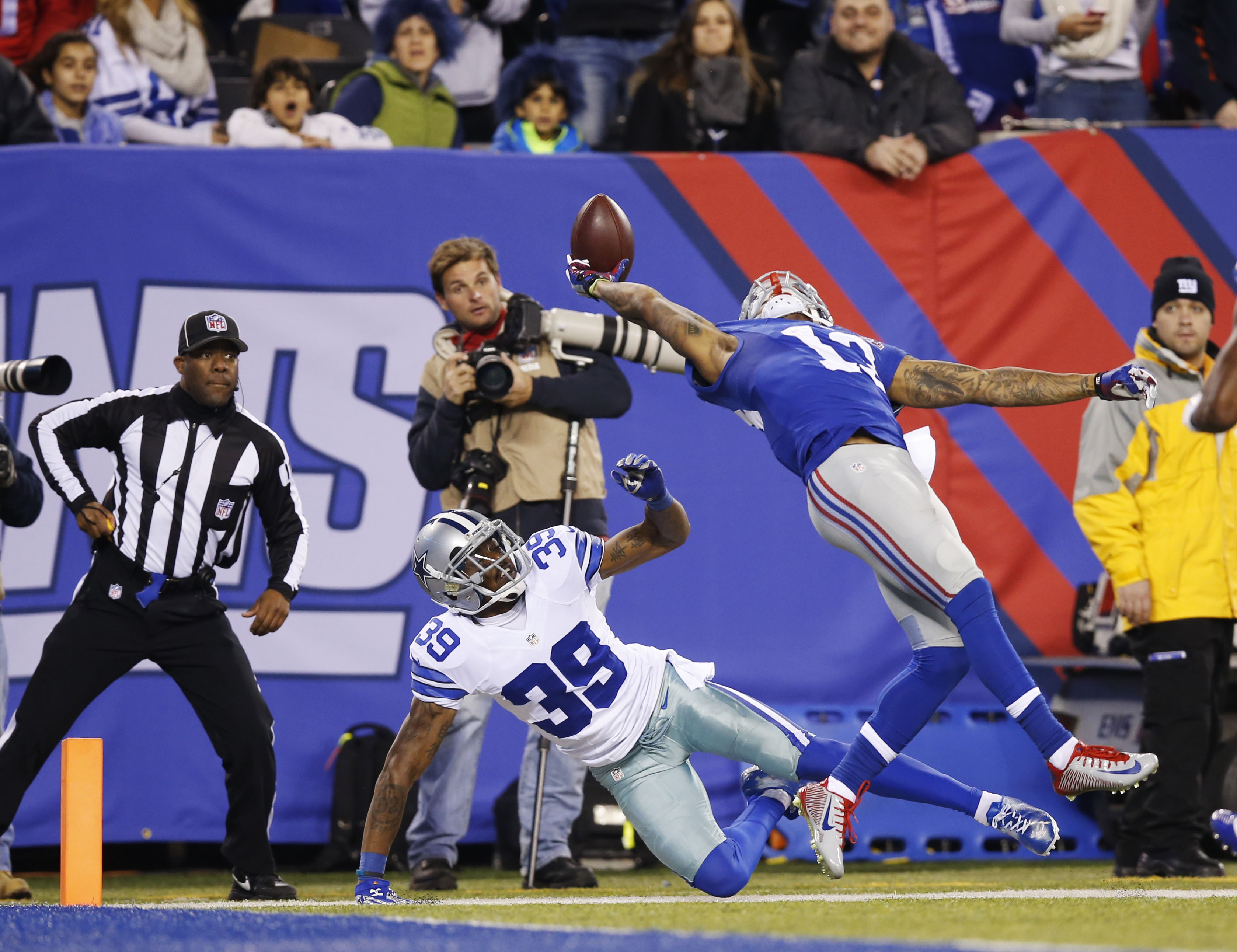 Cowboys Rally To Top Giants The Japan Times