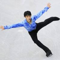 Hanyu looks to continue strong start by Japan men