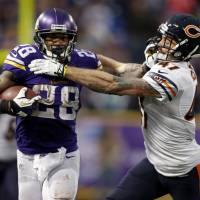 Peterson out for rest of '14