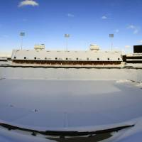Bills escape snowbound Buffalo