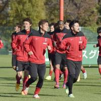 Reds aiming to claim J. League title by beating Gamba