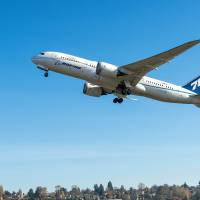 Boeing completes 787 test flight with 'green diesel'