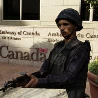 After British, Canada closes Cairo embassy amid security scare