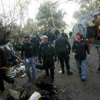 Silicon Valley authorities clearing out America's largest homeless camp
