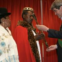 No throne or court, but he does have a red cape: Bolivia's 'black king' defies slavery legacy