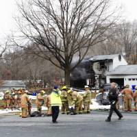 At least three killed in Maryland private jet crash