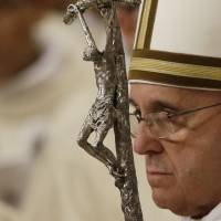 'So many tears this Christmas,' says Pope Francis