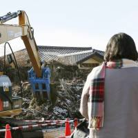 Debris clearing starts in Futaba, more than 3½ years after tsunami
