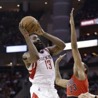 Harden drops 44 on Trail Blazers