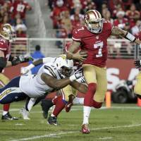 Chargers down 49ers in OT