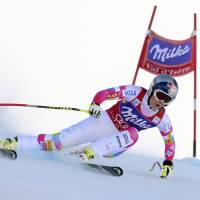 Vonn takes downhill for 62nd career World Cup win