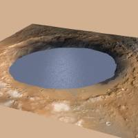 Lake sediments may have formed mountain on Mars