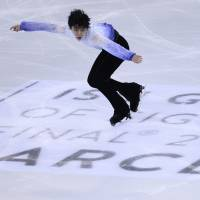 Hanyu sets stage for grand finale