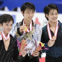 Hanyu claims third national title by impressive margin