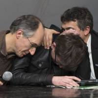 Charlie Hebdo staff meet media to unveil details of defiant post-massacre issue