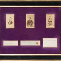 Lock of Abe Lincoln's hair sells for $25,000 at Dallas auction