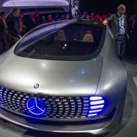 Cars of the future emerge at CES