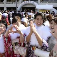 Coming-of-Age Day in Japan 2015