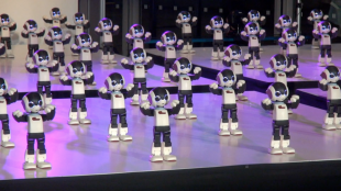 [VIDEO] 100 Robi: A dance celebration featuring 100 robots