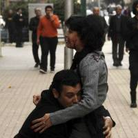 Egyptian protester killed on eve of uprising anniversary