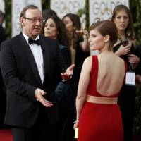 A tense Hollywood to exhale at glitzy Golden Globes