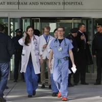 Doctor critically wounded in Boston hospital shooting