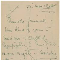 Titanic survivor letter sells for nearly $12,000