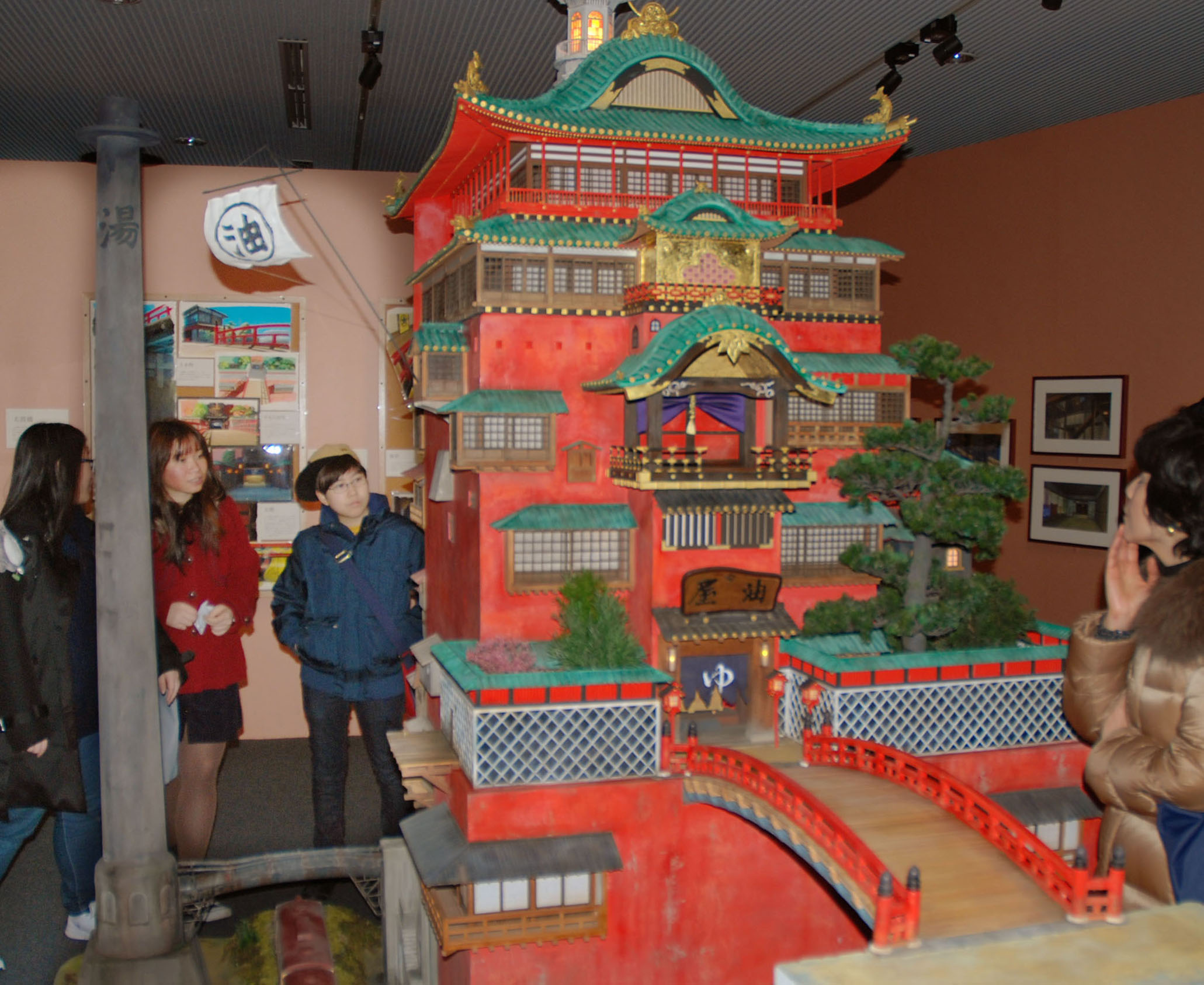 D Architectural Ghibli Exhibition : Architecture museum s ghibli exhibition a major hit in
