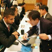 Japanese firms turn to Asia in the hunt for good graduates