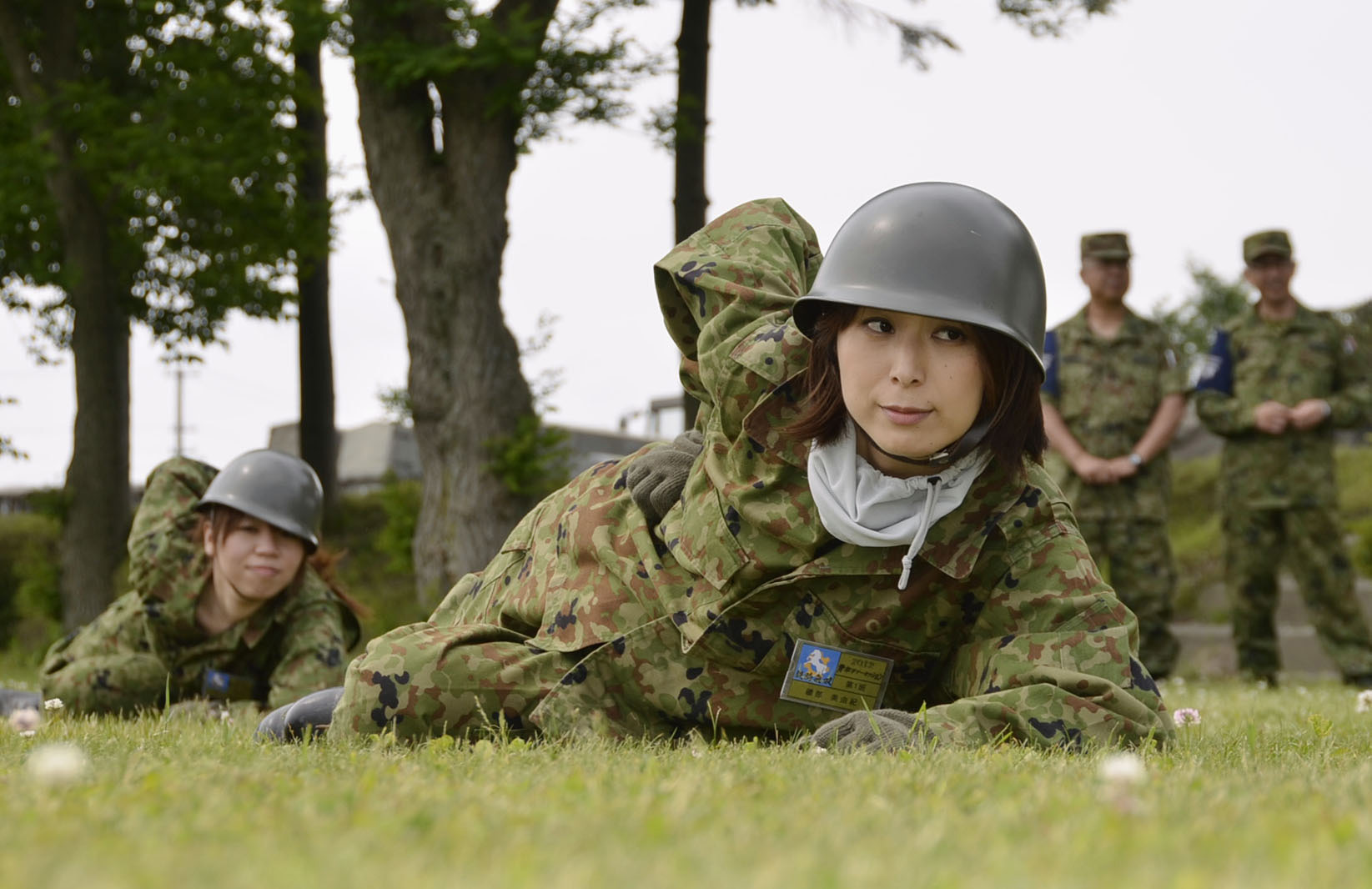 Army boot camp women