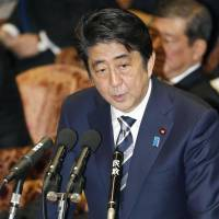 Abe pledges to 'correct' the record on wartime sex slaves