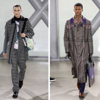 Issey Miyake latest line is a Highland fling with tartan and geometry