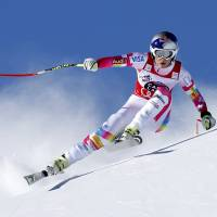 Gut claims downhill in St. Moritz