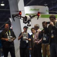Drones take U.S. electronics show by storm