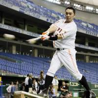 Abe leaves big shoes to fill at catcher's spot in lineup