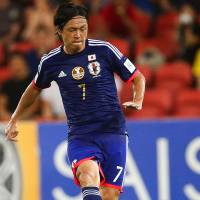 Endo gets 150th cap in Japan win